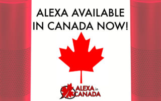 Alexa Available in Canada now