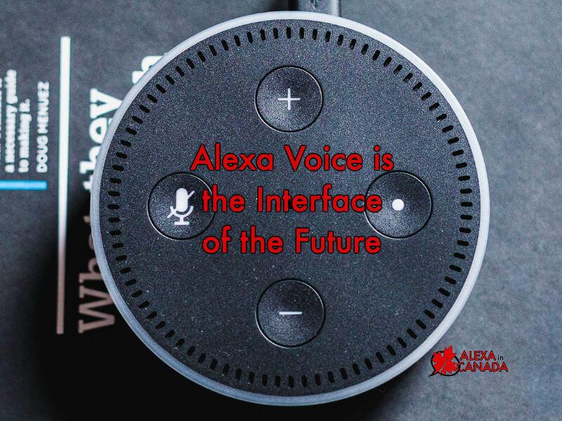 Alexa Voice Interface of the Future