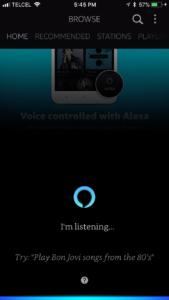 How to play music through amazon alexa