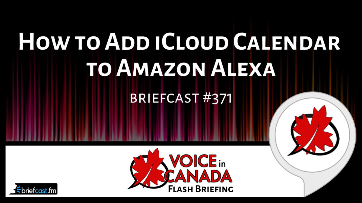 Icloud Calendar.How To Add Icloud Calendar To Amazon Alexa Alexa In Canada