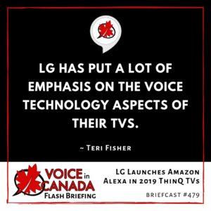 LG Launches Amazon Alexa in 2019 ThinQ TVs