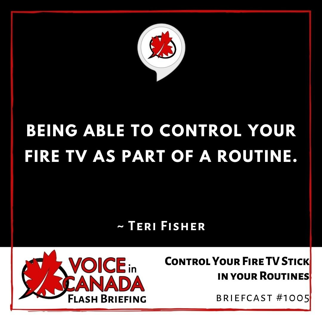 Control Your Fire TV Stick in your Routines